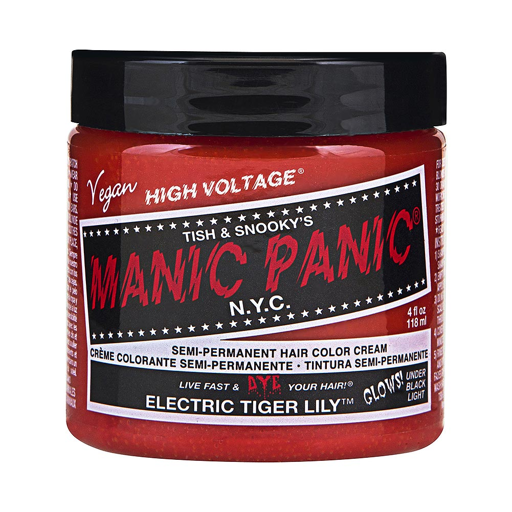 Colorante Per Capelli Formula Classic Cream High Voltage Manic Panic (Electric Tiger Lily - Rosso)