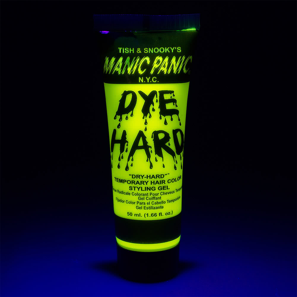 Manic Panic Dye Hard Temporary Hair Colour Styling Gels 50ml (Electric Banana)