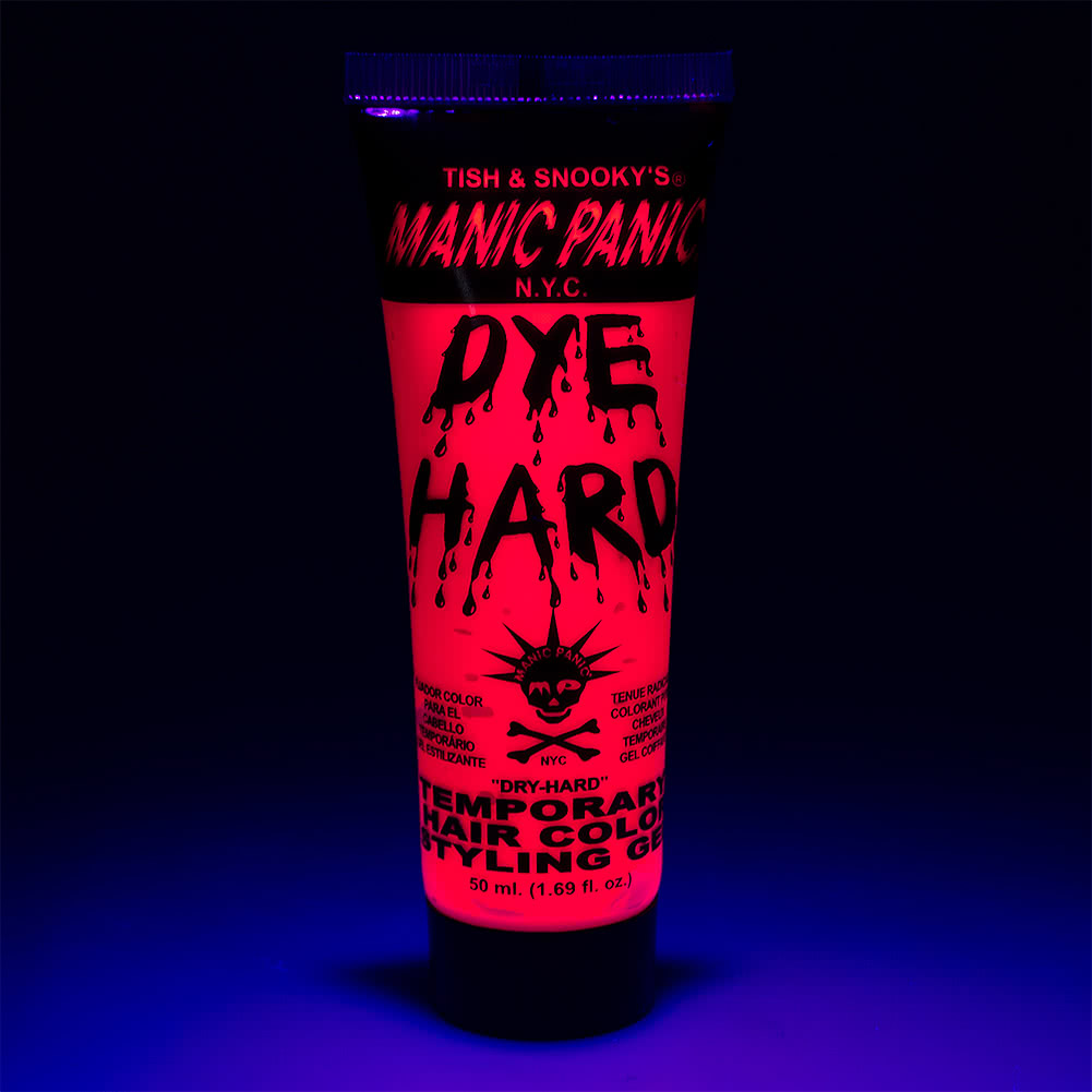 Manic Panic Dye Hard Temporary Hair Colour Styling Gels 50ml (Electric Flamingo)