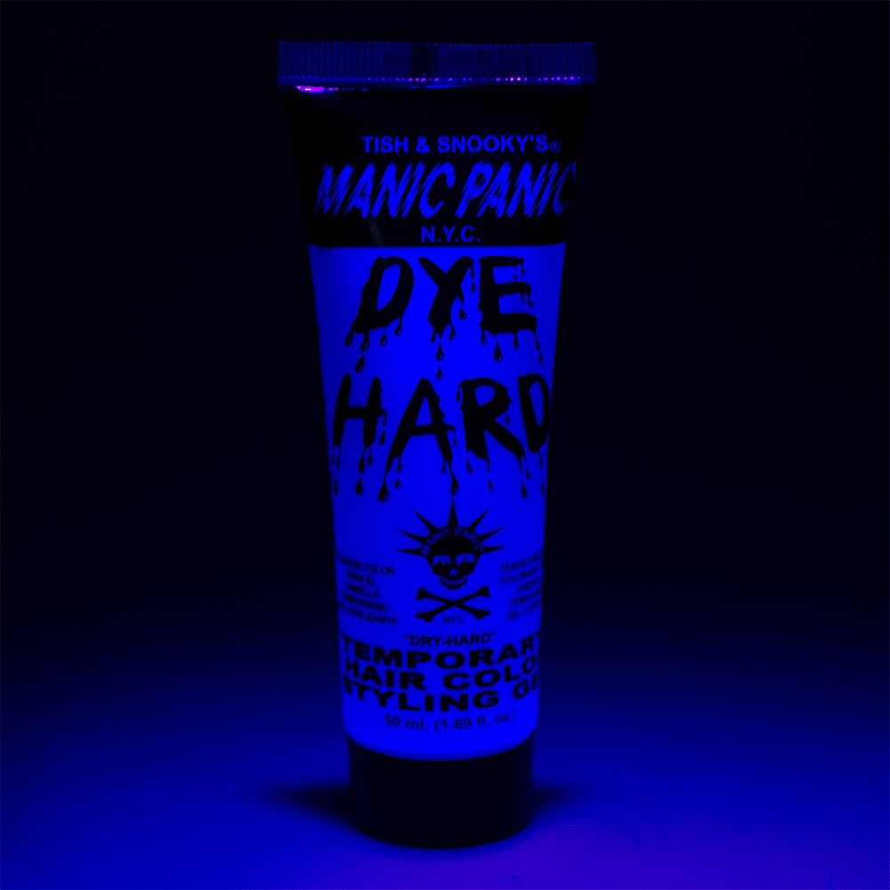 Manic Panic Dye Hard Temporary Hair Colour Styling Gels 50ml (Electric Sky)
