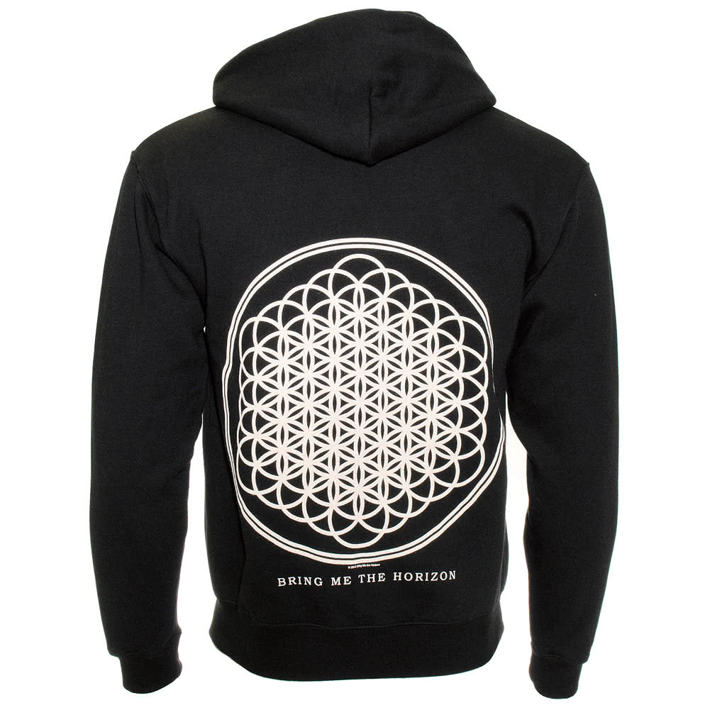 Official Bring Me The Horizon Flower of Life Hoodie (Black)