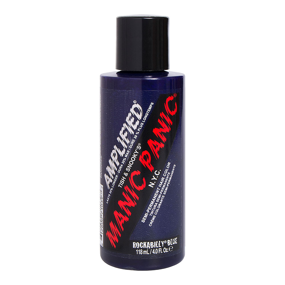 Colorante Per Capelli Semi-Permanente Amplified Manic Panic (Rockabilly Blue - Blu)