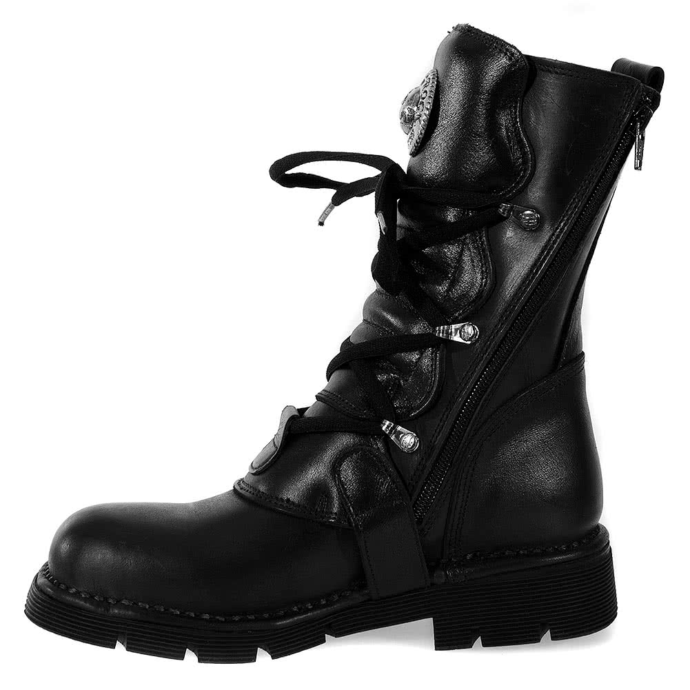New Rock Style M. 1473 Boots (Black)