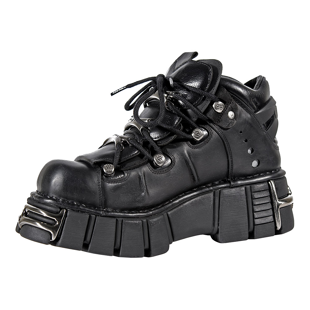 New Rock M.106-S1 Tower Shoes (Black)