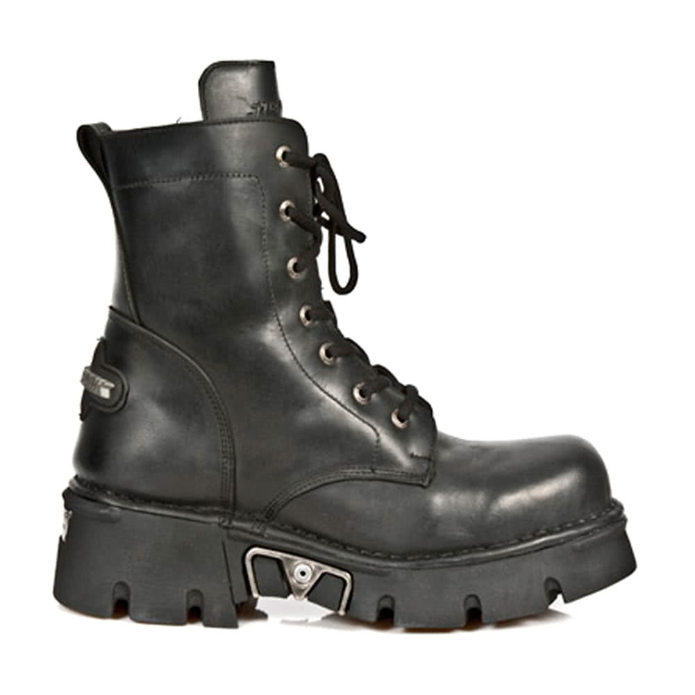 New Rock M.563-S1 Reactor Ankle Boots (Black)