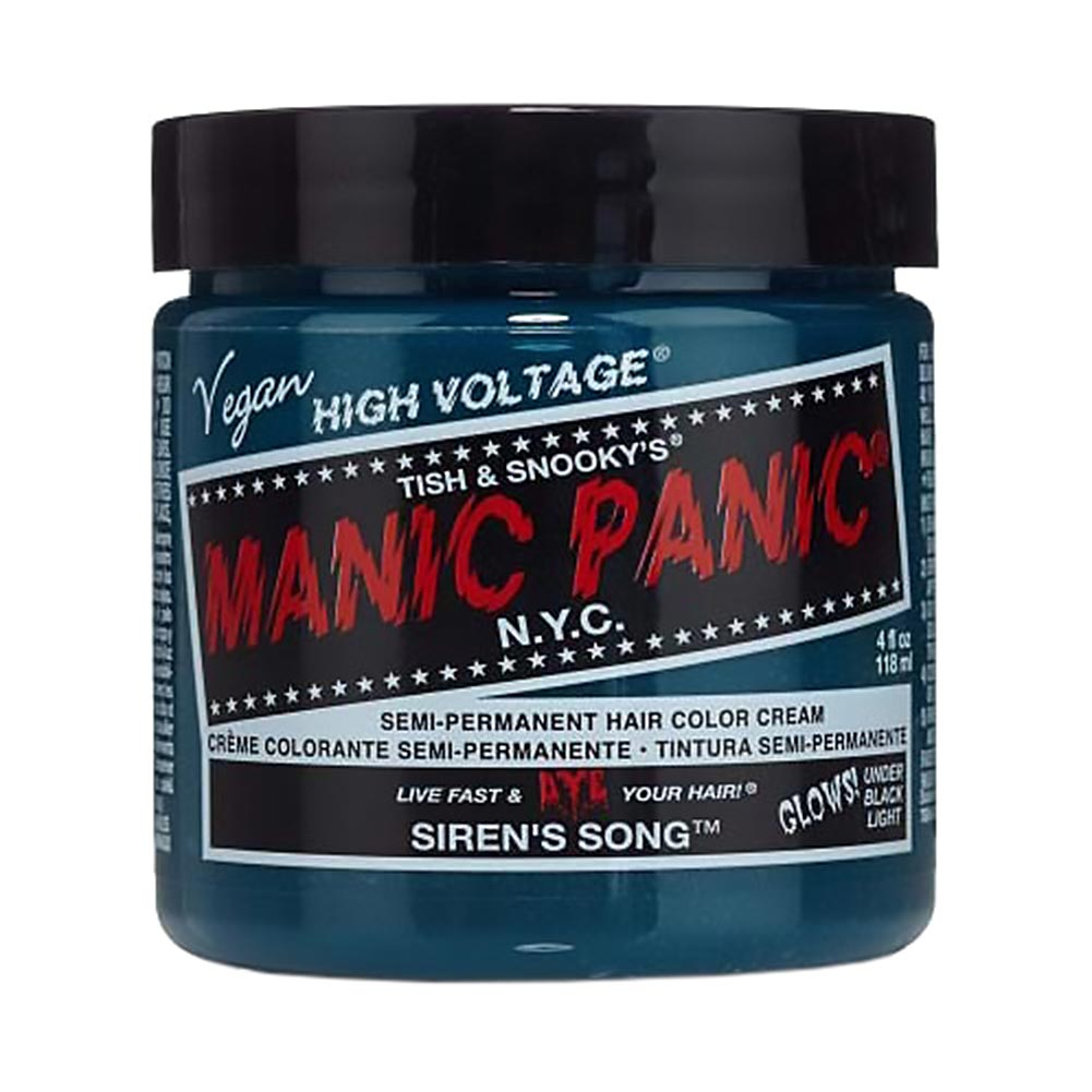 Manic Panic High Voltage Classic Cream Formula Colour Hair Dye 118ml (Siren's Song)