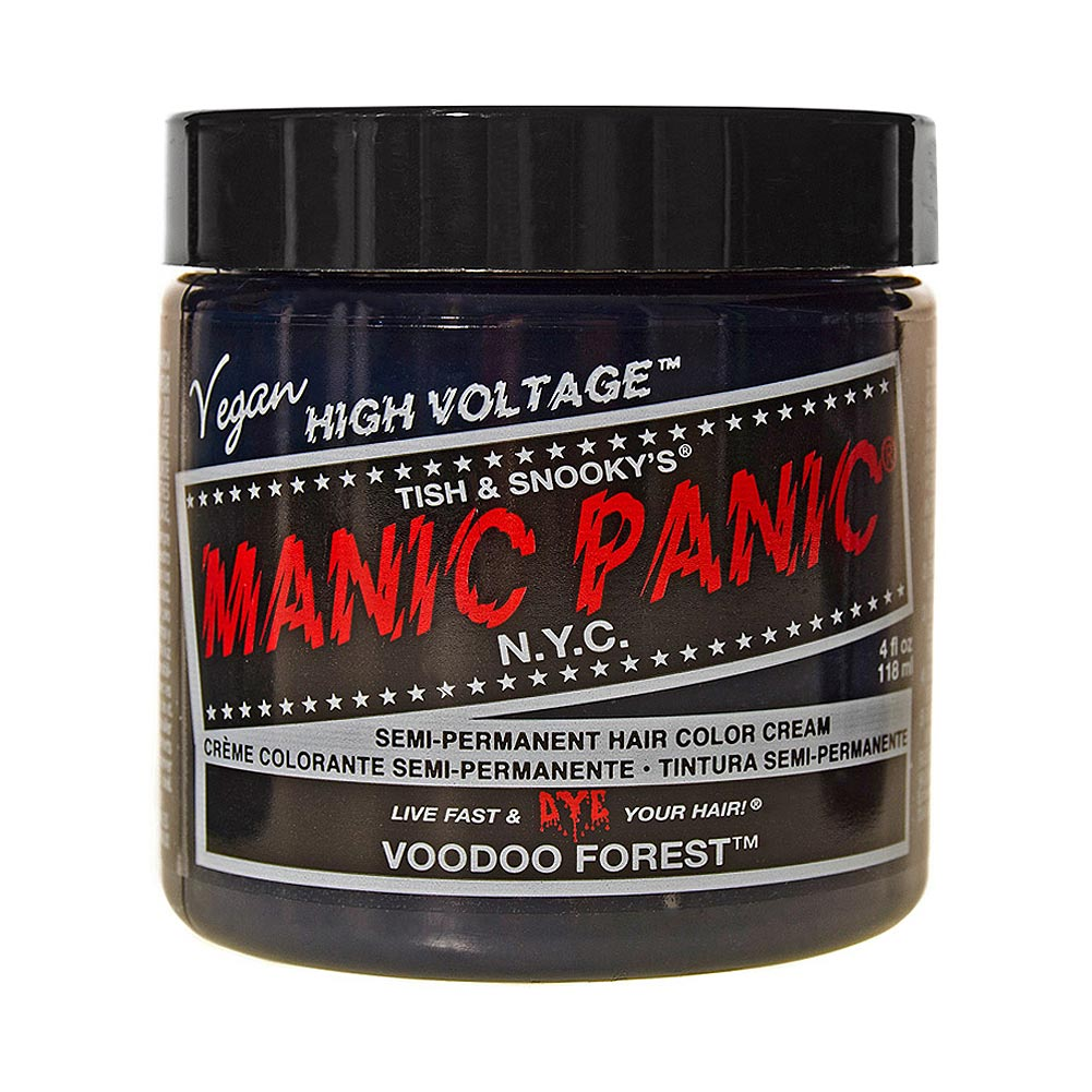 Manic Panic High Voltage Classic Cream Formula Colour Hair Dye 118ml (Voodoo Forest)