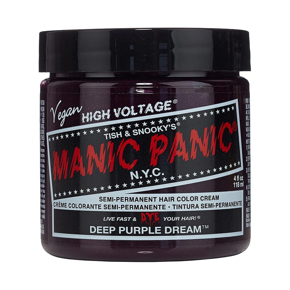Colorante Per Capelli Formula Classic Cream High Voltage Manic Panic (Deep Purple Dream - Viola)