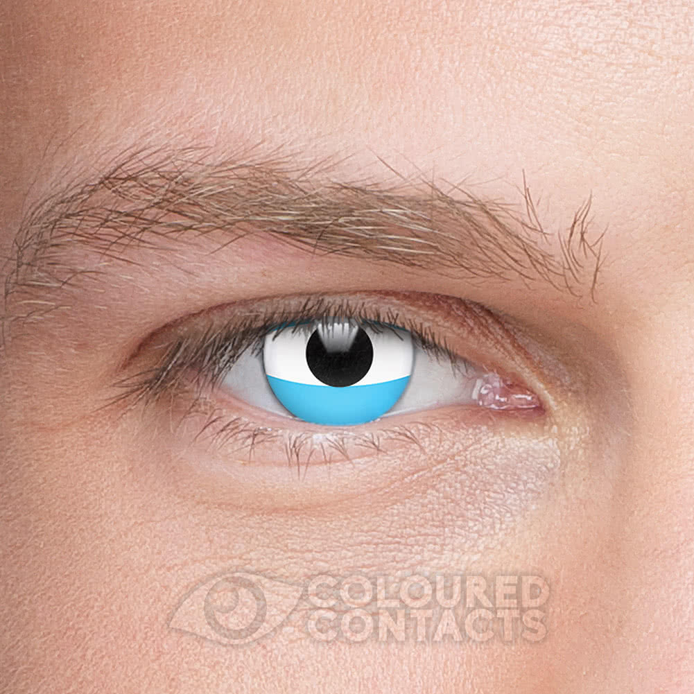Novelty Flag 90 Day Coloured Contact Lenses (Argentina)