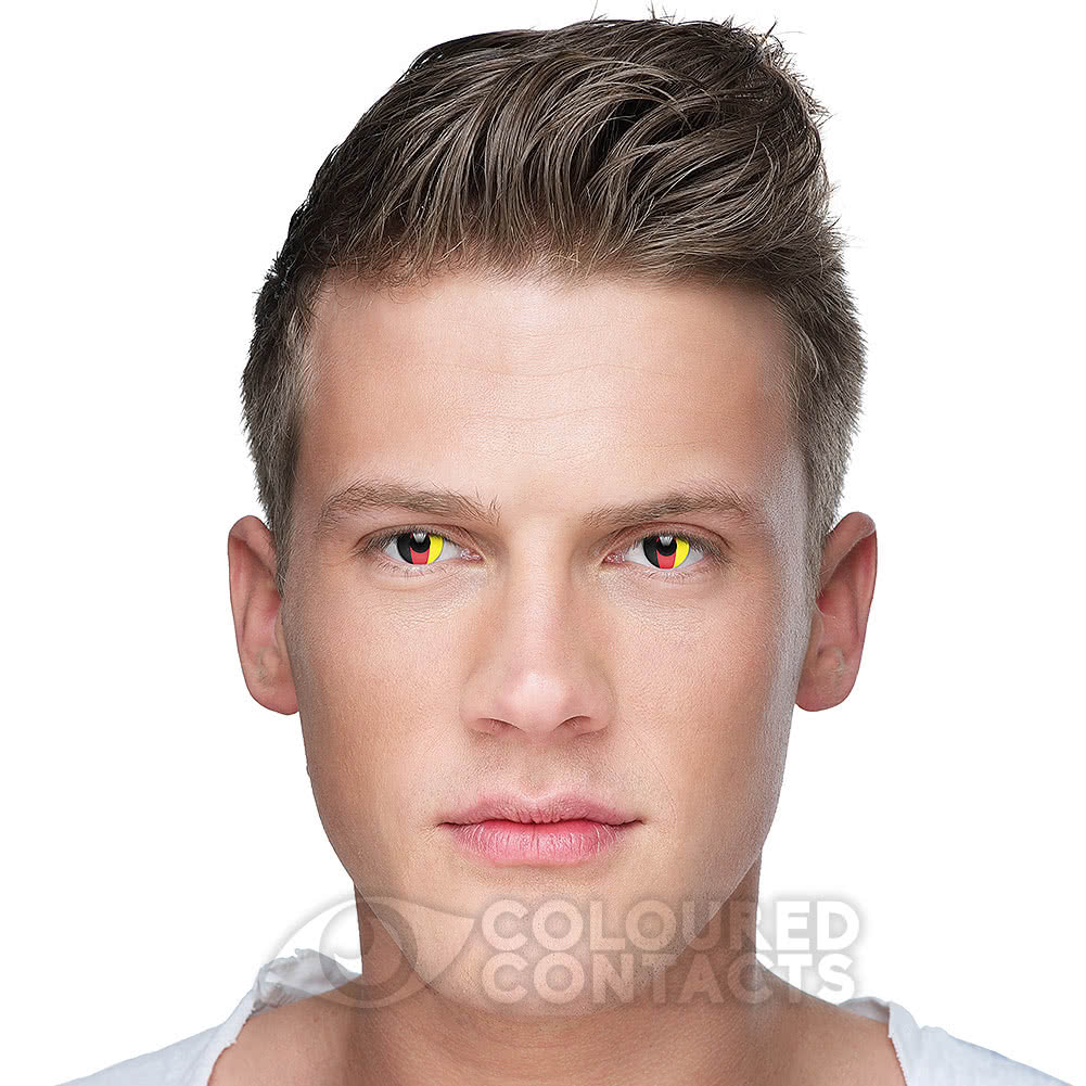 Novelty Flag 90 Day Coloured Contact Lenses (Germany)