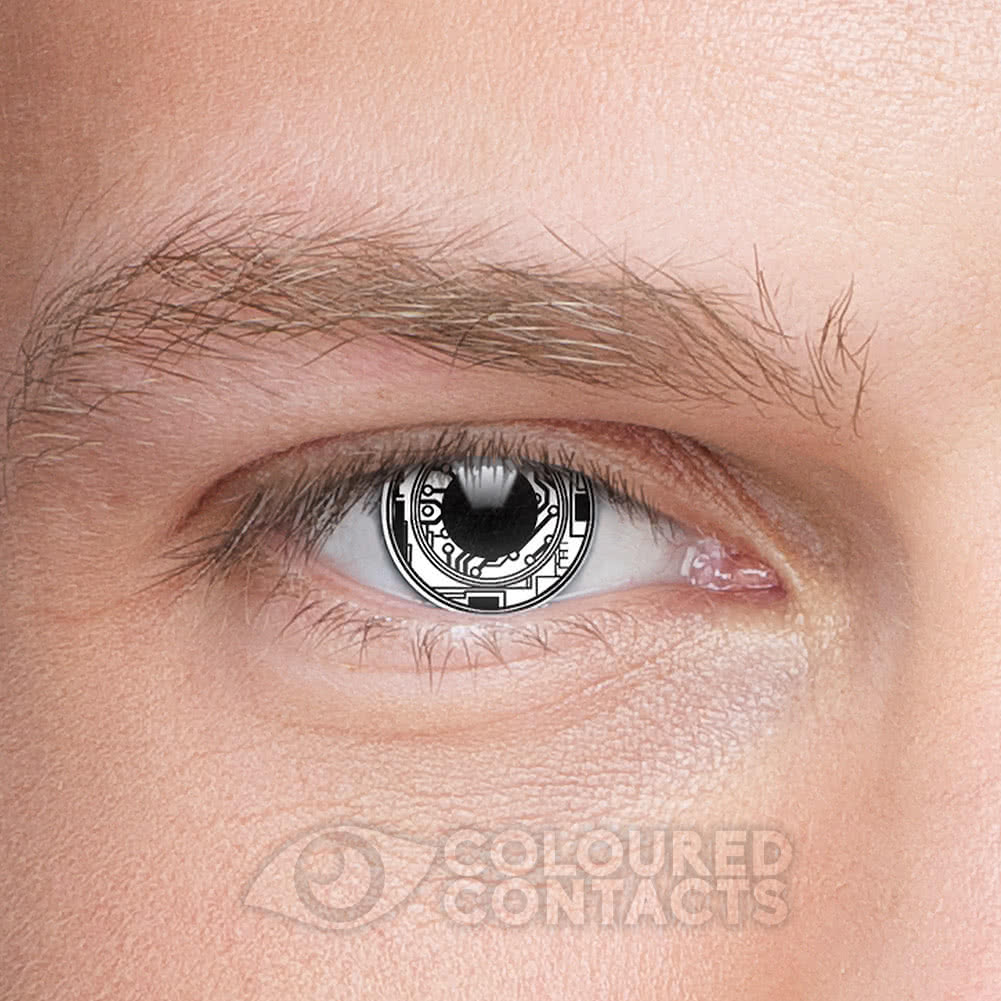 Terminator 1 Year Coloured Contact Lenses (Bionic Eye)