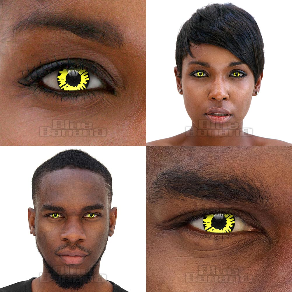 Twilight Werewolf 90 Day Coloured Contact Lenses (Yellow)