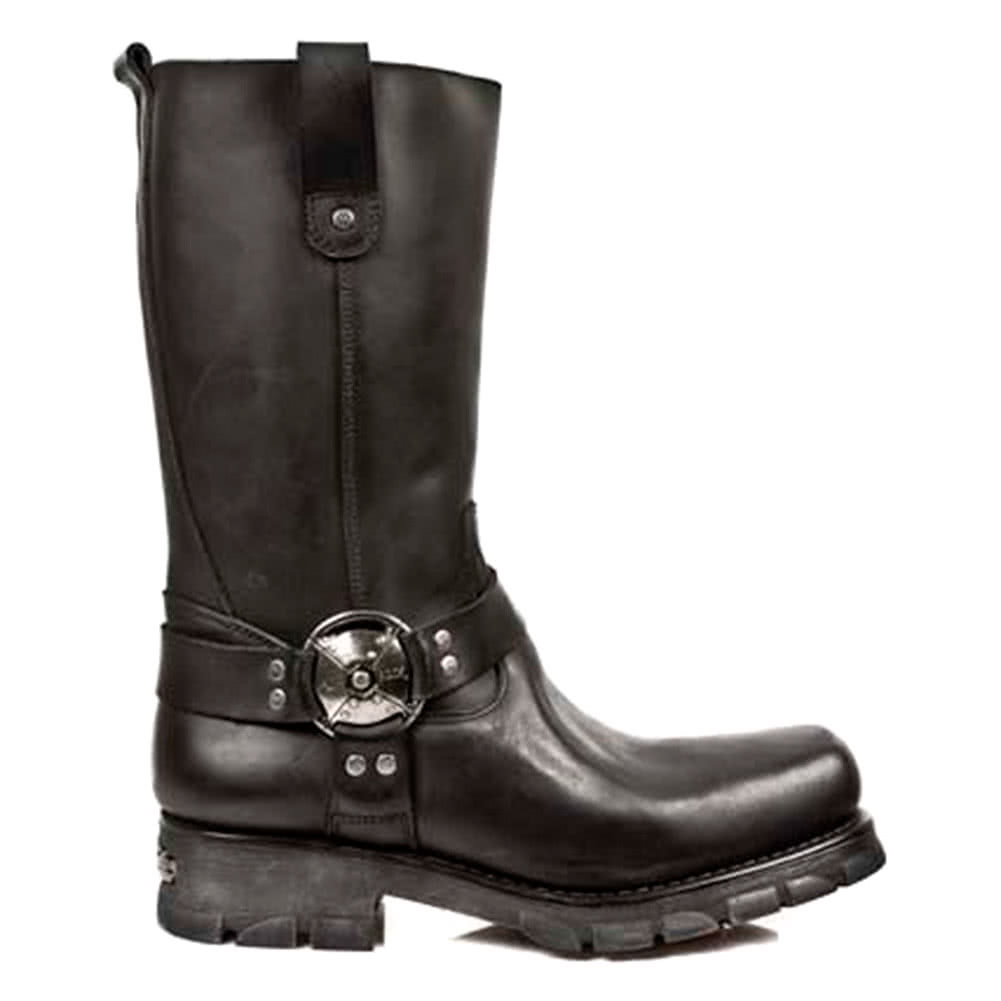New Rock M.7610-S1 Motorcycle Boots (Black)