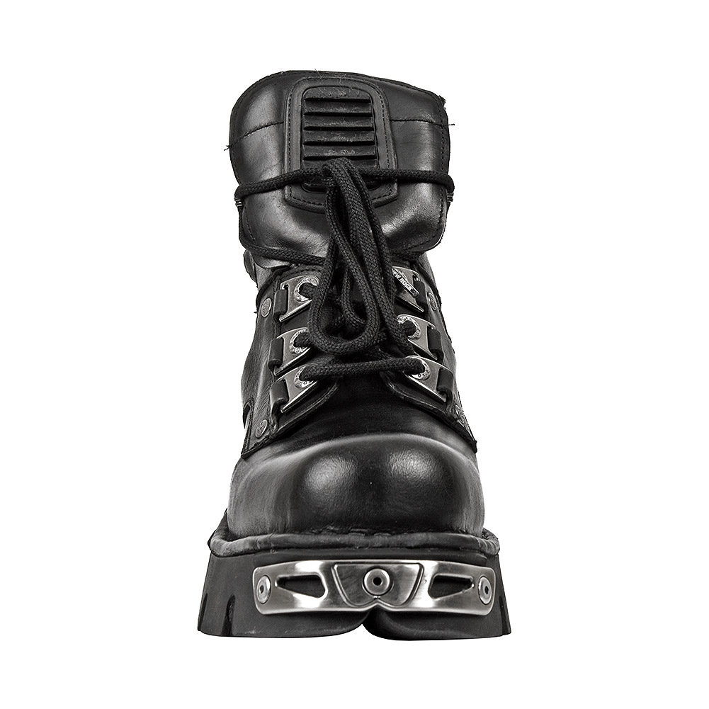 New Rock M.924-S1 Reactor Ankle Boots (Black)