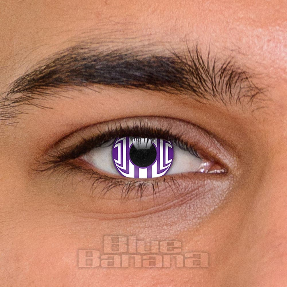 Cosmic 90 Day Reusable Purple Violet Coloured Contact ...