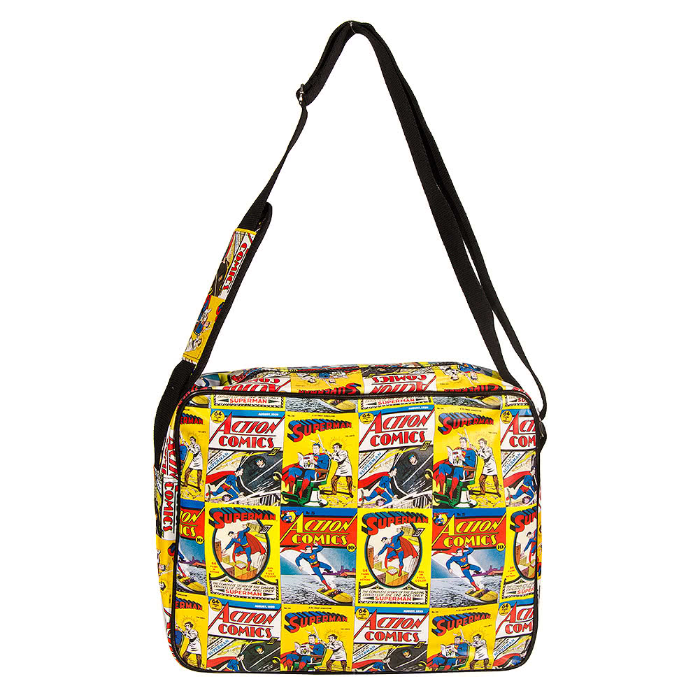 DC Comics Superman Comic Messenger Bag (Multi Coloured)