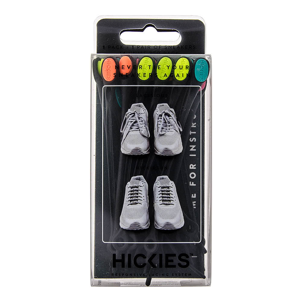 Hickies Laces (Black/Multi)