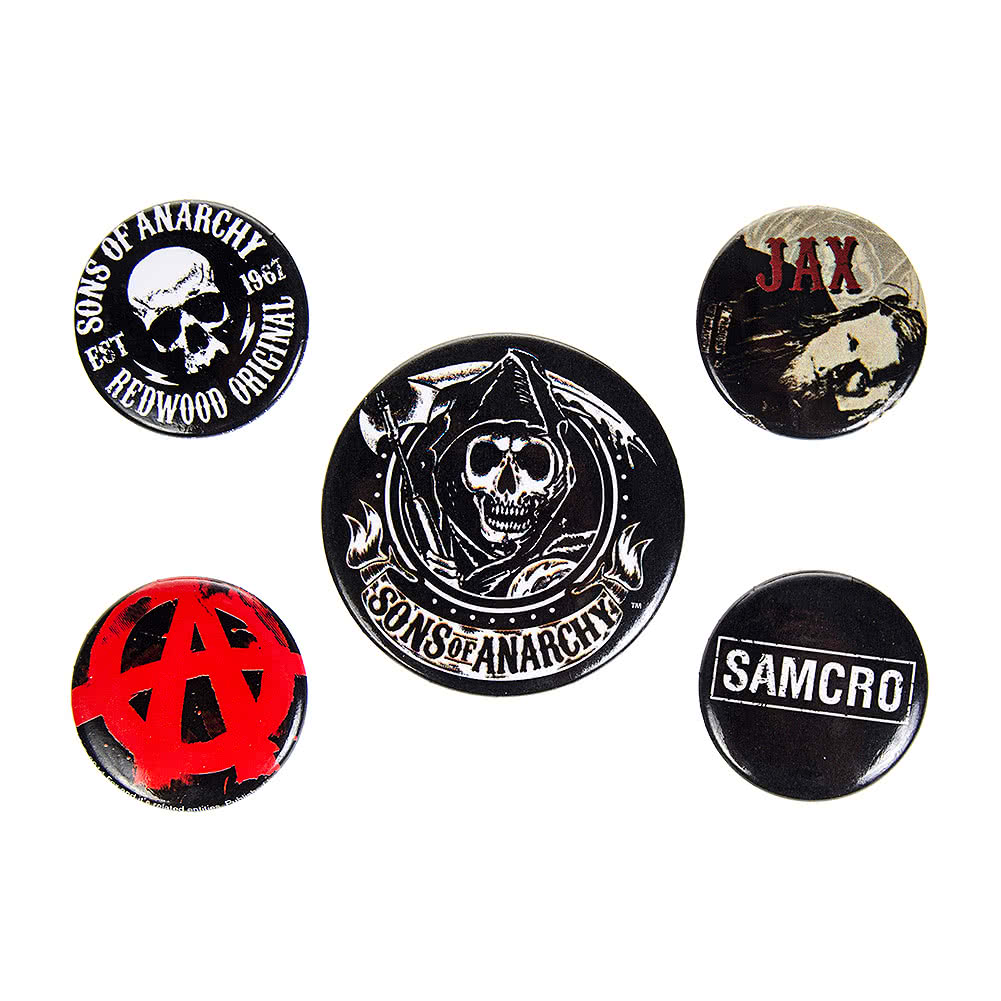 Sons Of Anarchy Badge Pack