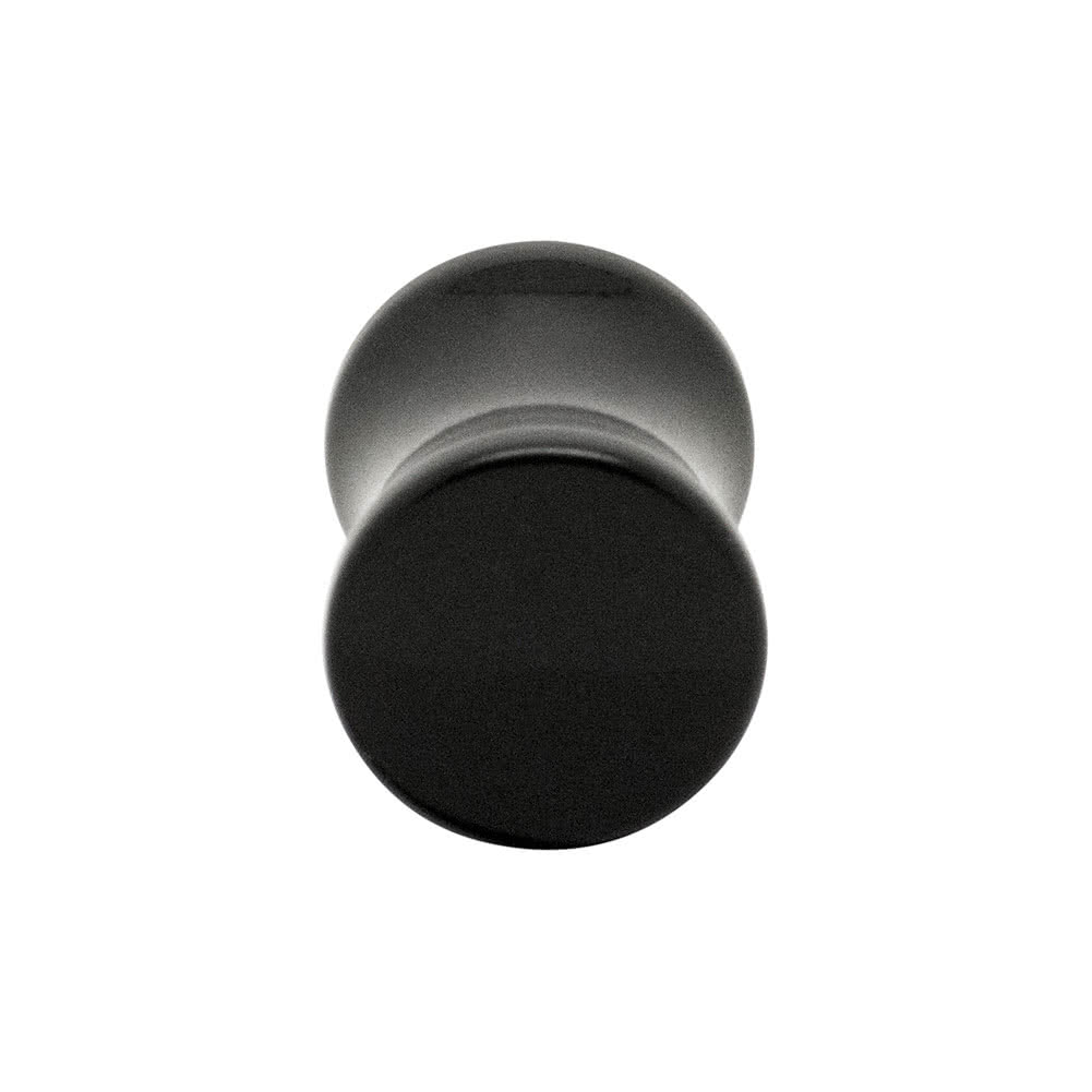 Blue Banana Acrylic Plain Ear Plug 4-12mm (Black)