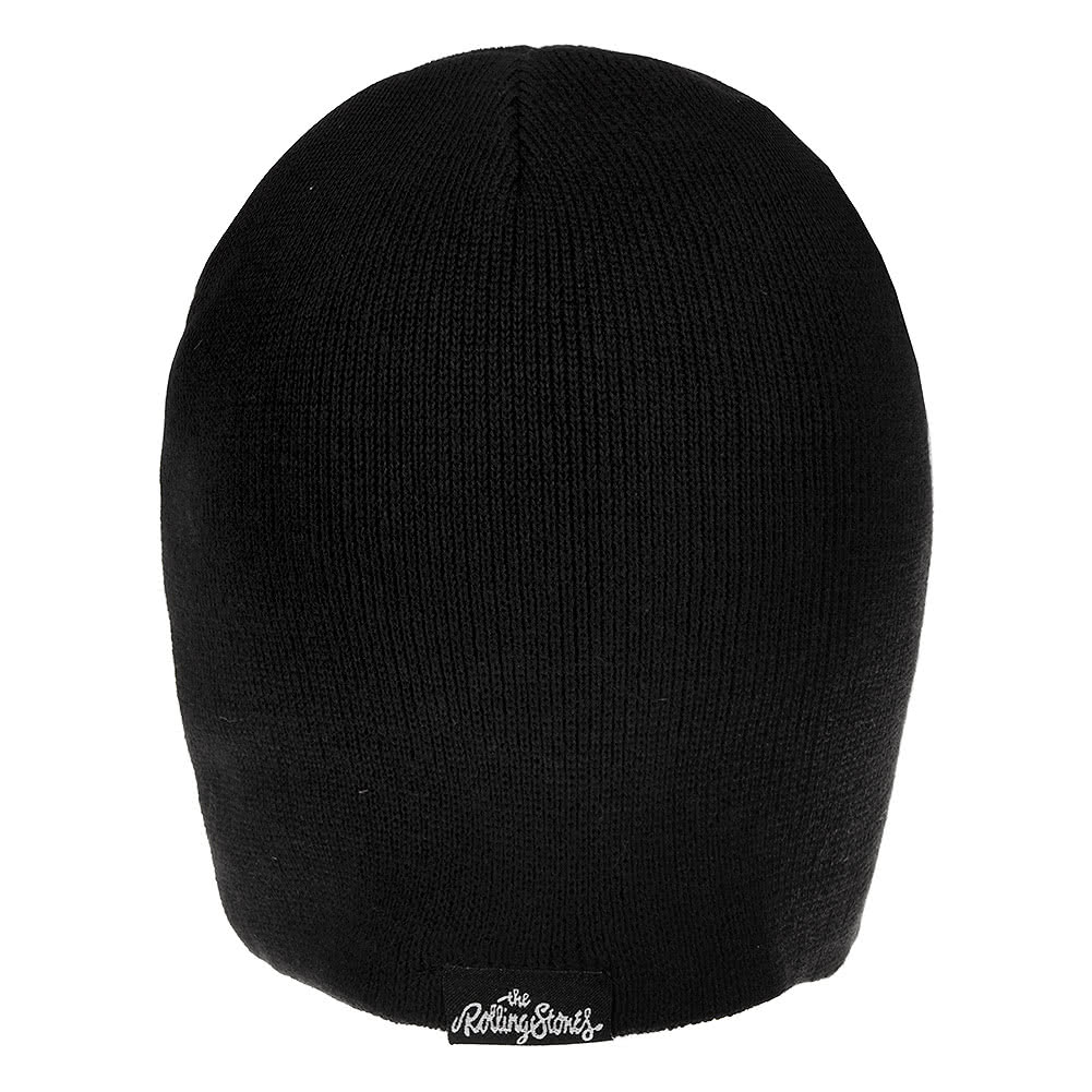 Official Rolling Stones Tongue Beanie (Black)
