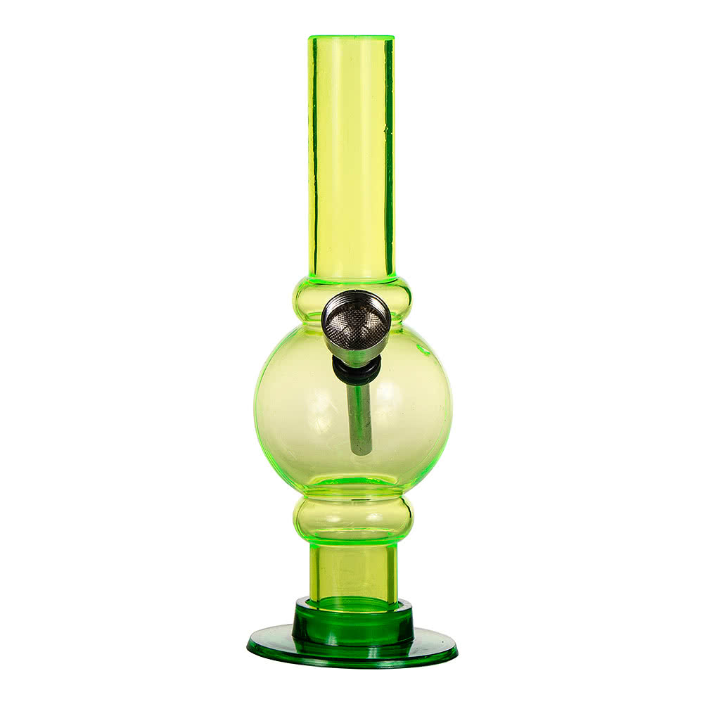 "Blue Banana 6"" Mini Acrylic Bong (Green)"