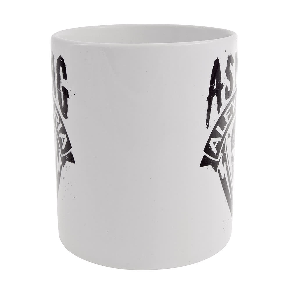Tazza Skull Shield Asking Alexandria (Bianco)