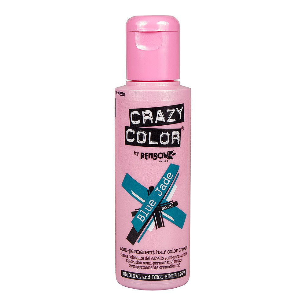 Crazy Color Coloration Semi-Permanente  100ml (Blue Jade)