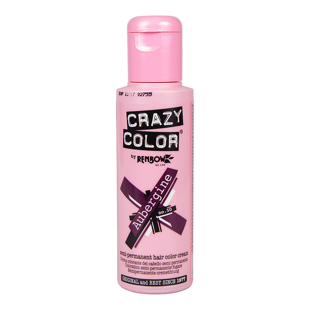 Crazy Color Haartönung 100ml (Aubergine)
