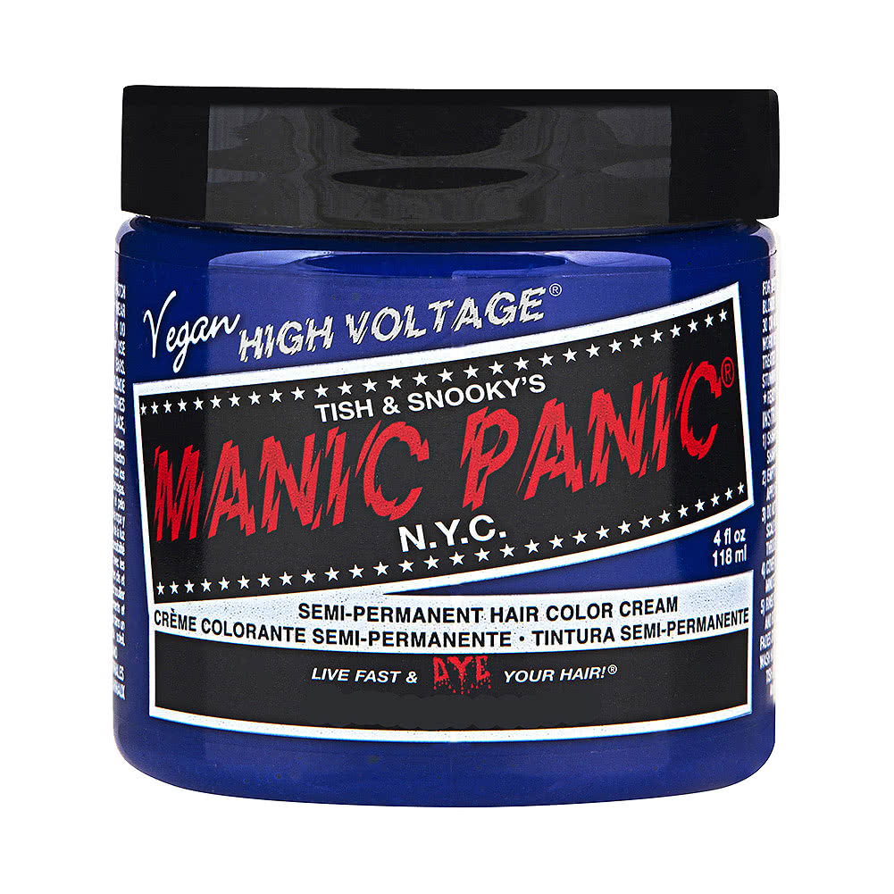 Manic Panic High Voltage Classic Cream Formula Colour Hair Dye 118ml (After Midnight)