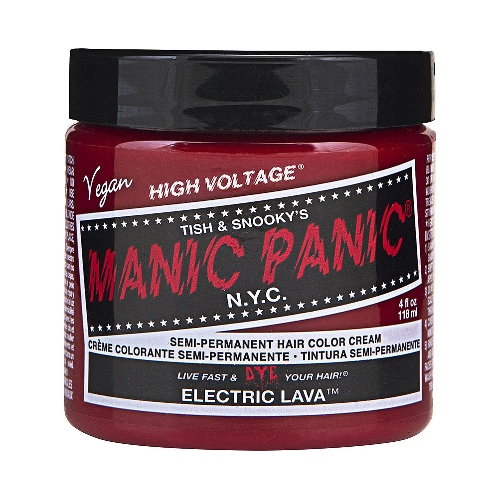 Manic Panic High Voltage Classic Cream Formula Colour Hair Dye 118ml (Electric Lava)