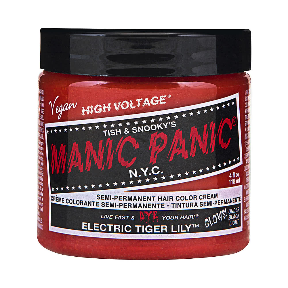Manic Panic High Voltage Classic Cream Formula Colour Hair Dye 118ml (Electric Tiger Lily)
