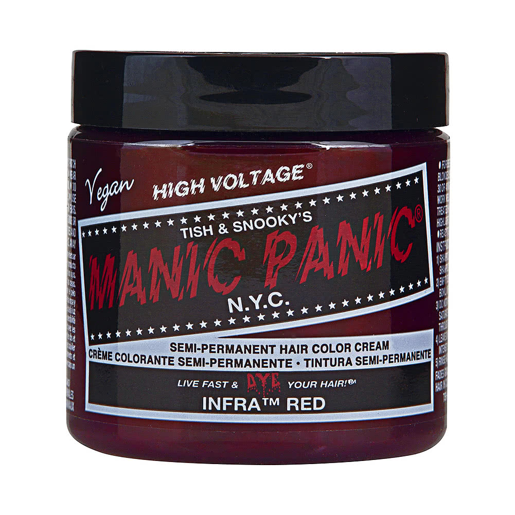 Manic Panic High Voltage Classic Cream Formula Colour Hair Dye 118ml (Infra Red)