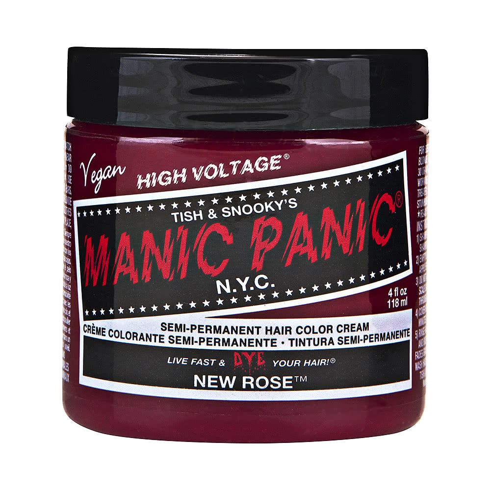 Manic Panic High Voltage Classic Cream Formula Colour Hair Dye 118ml (New Rose)
