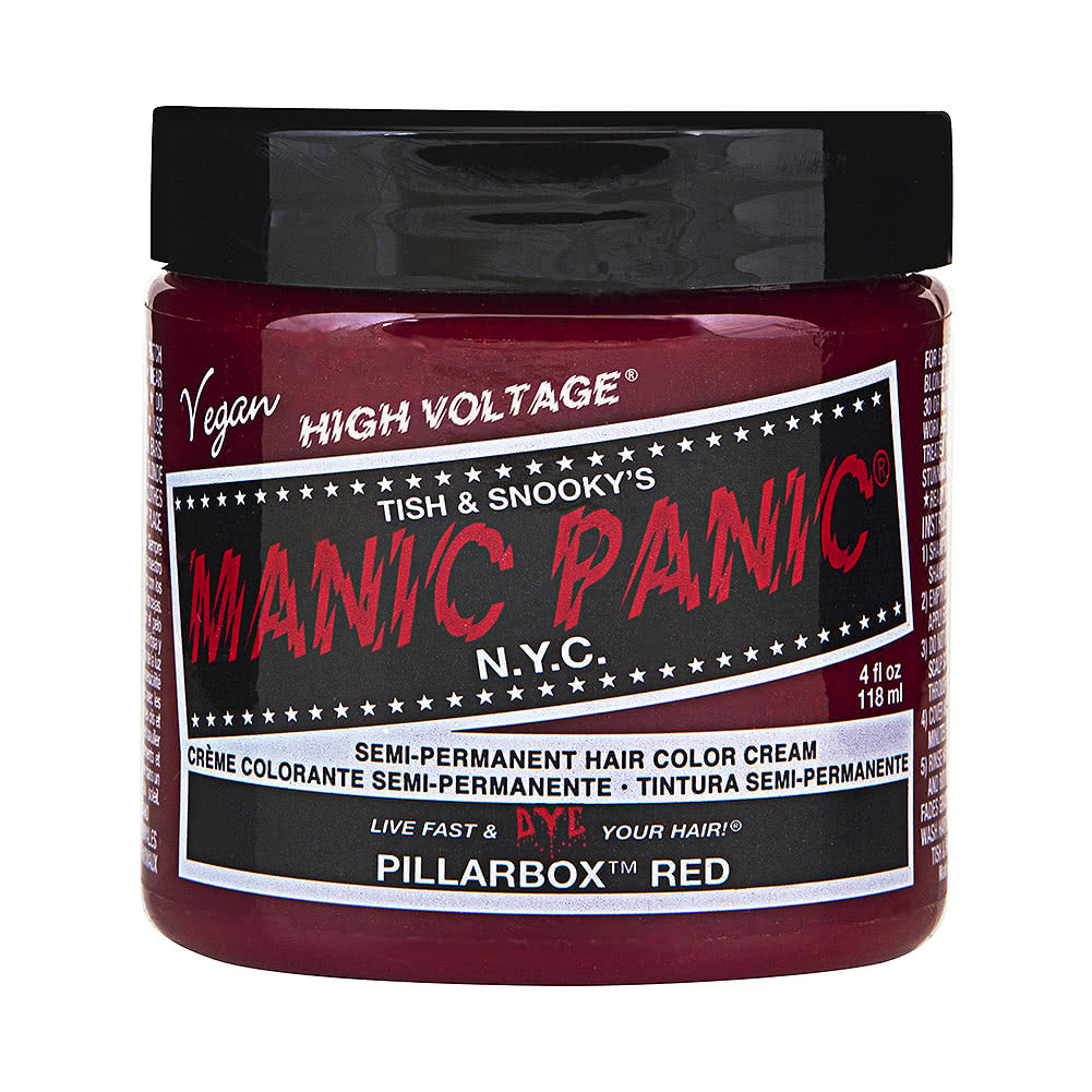 Manic Panic High Voltage Classic Cream Formula Colour Hair Dye 118ml (Pillarbox Red)