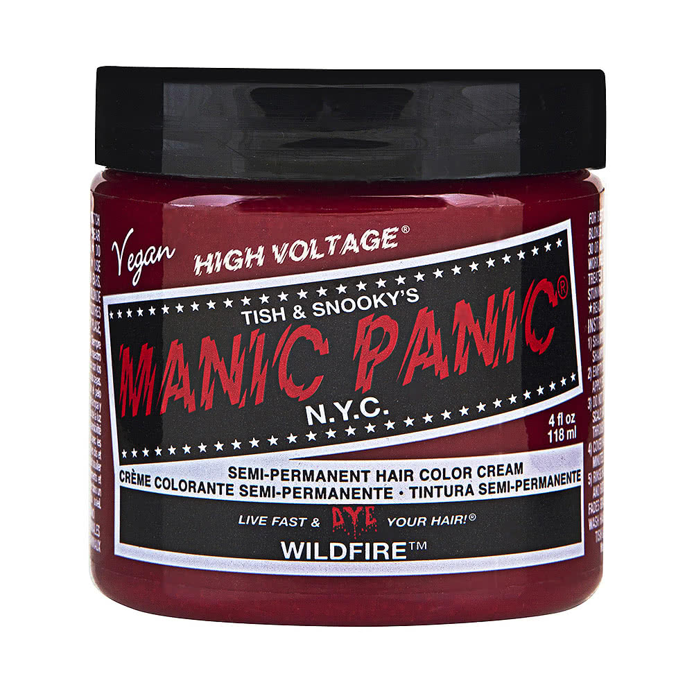 Manic Panic High Voltage Classic Cream Formula Colour Hair Dye 118ml (Wildfire)