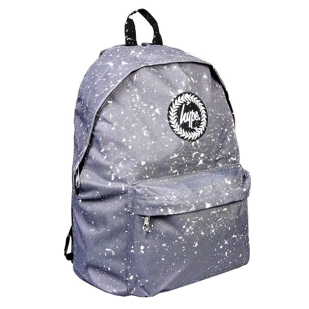 Hype Speckle Backpack (Grey/White)
