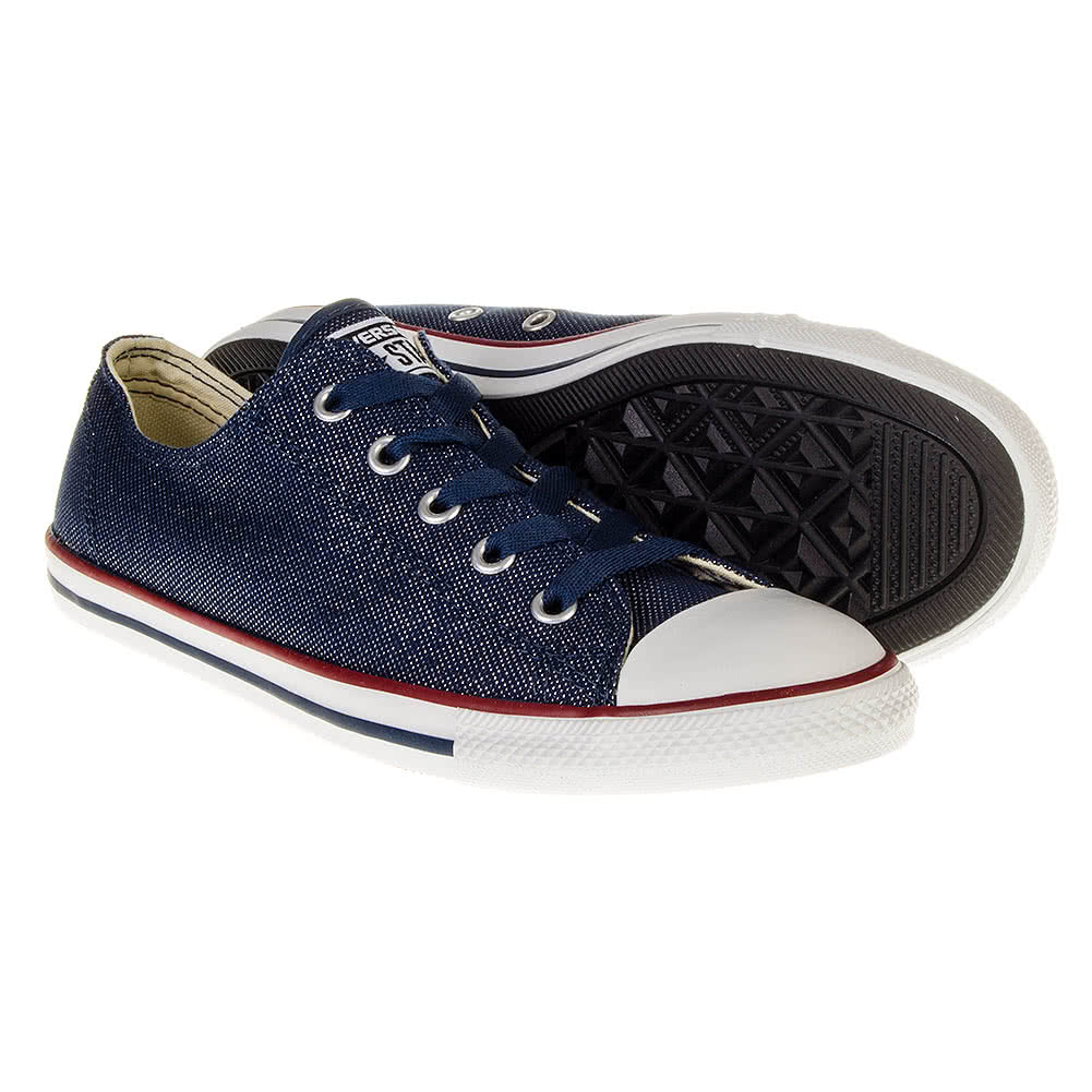 Converse All Star Denim Dainty Shoes (Navy)