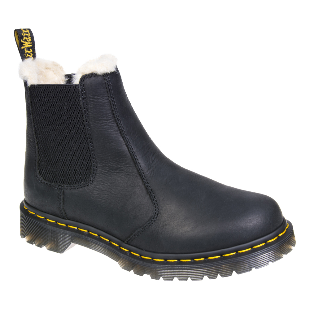 dr martens leonore chelsea boots black ebay. Black Bedroom Furniture Sets. Home Design Ideas