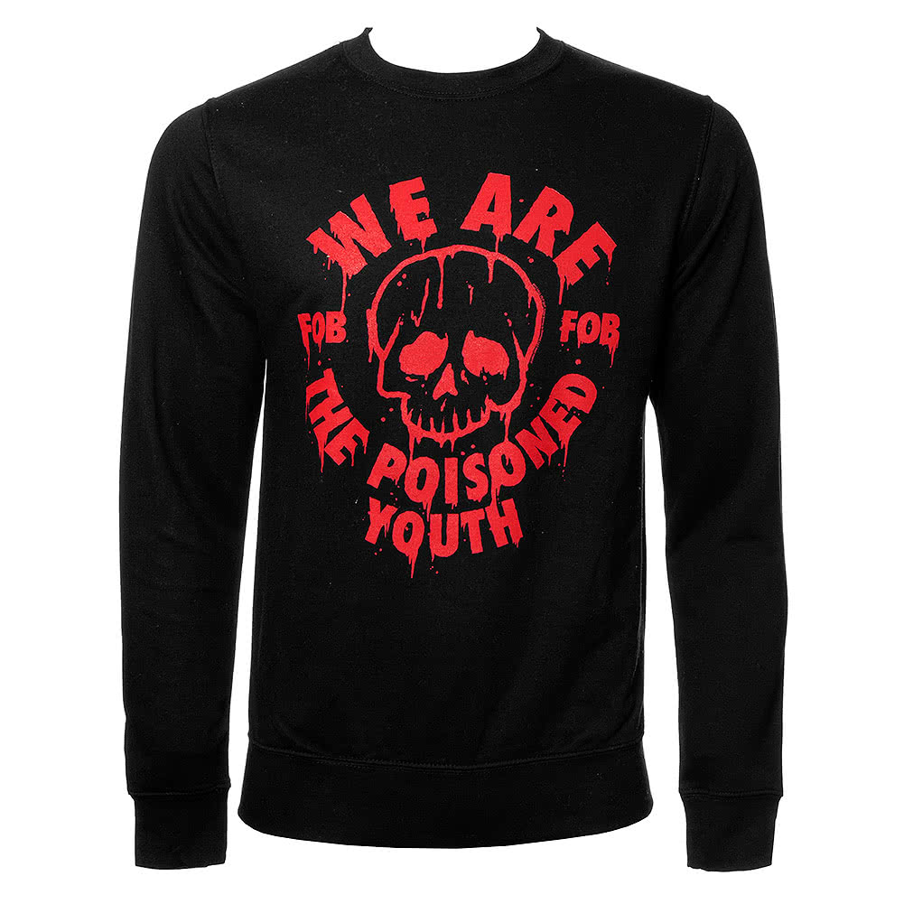 Official Fall Out Boy Poisoned Youth Sweatshirt (Black)