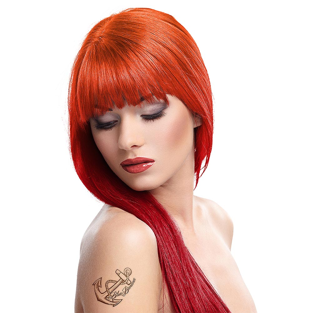 Splat Ombre Fire Kit De Coloration Longue Durée (Red Ignite/Hot Ember)