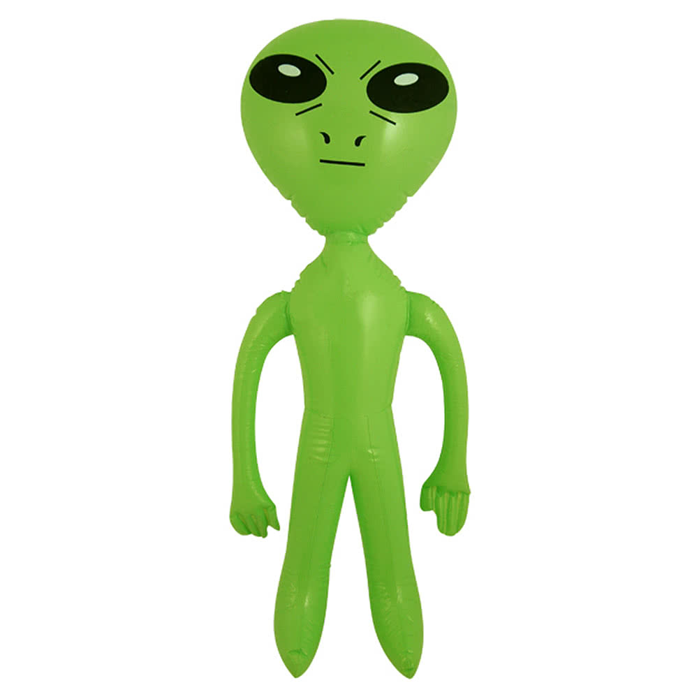 Blue Banana Inflatable Alien (Green)