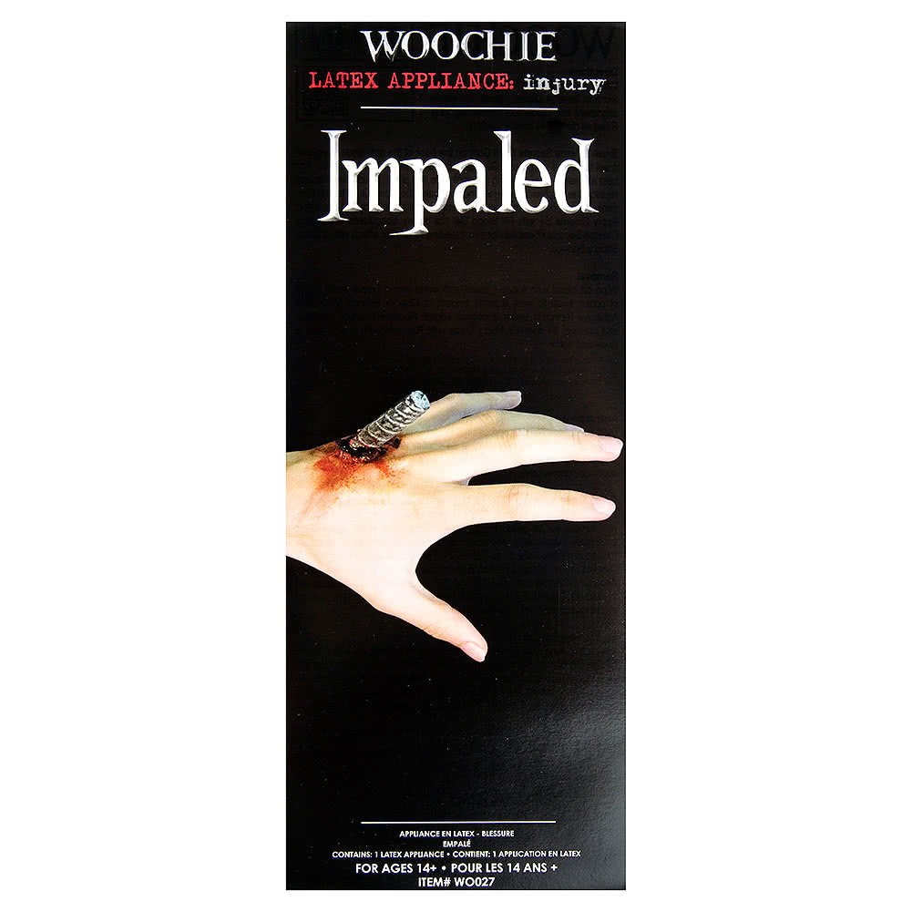 Trucco Horror Con Protesi In Latex Impaled Woochie