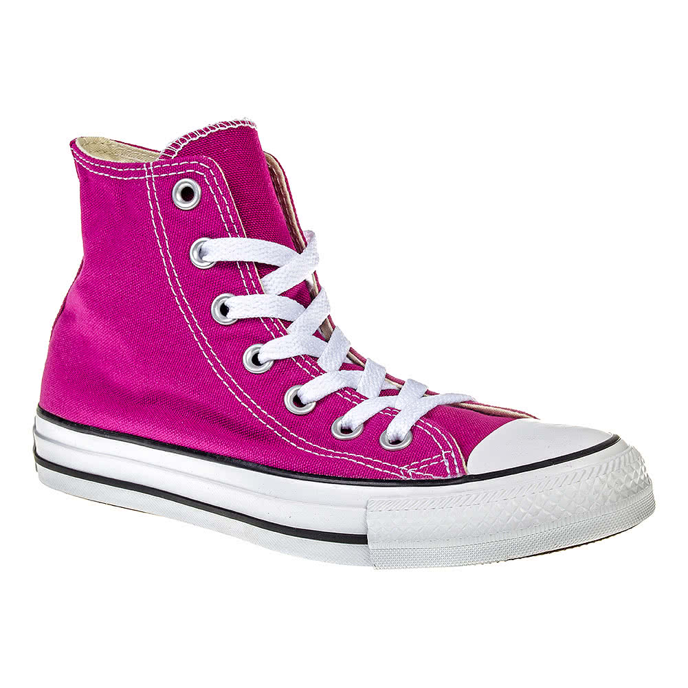Converse All Star Hi Top Boots (Pink Sapphire)