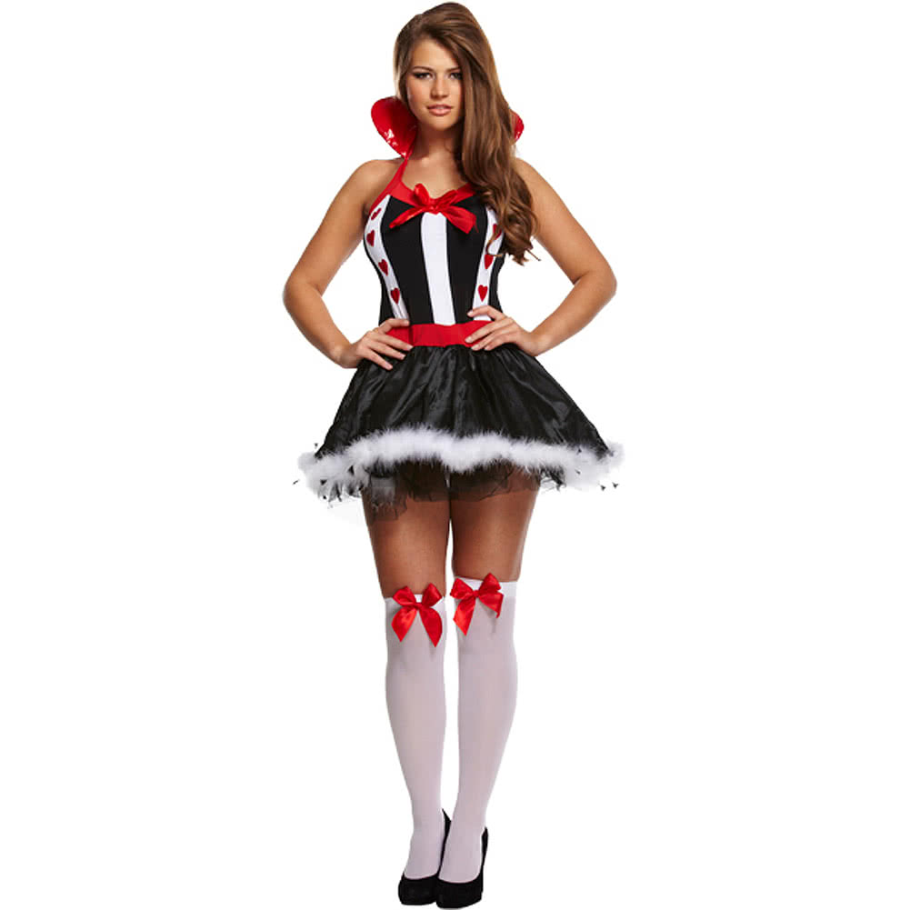 Blue Banana Queen Of Hearts Fancy Dress Costume (Multicoloured)