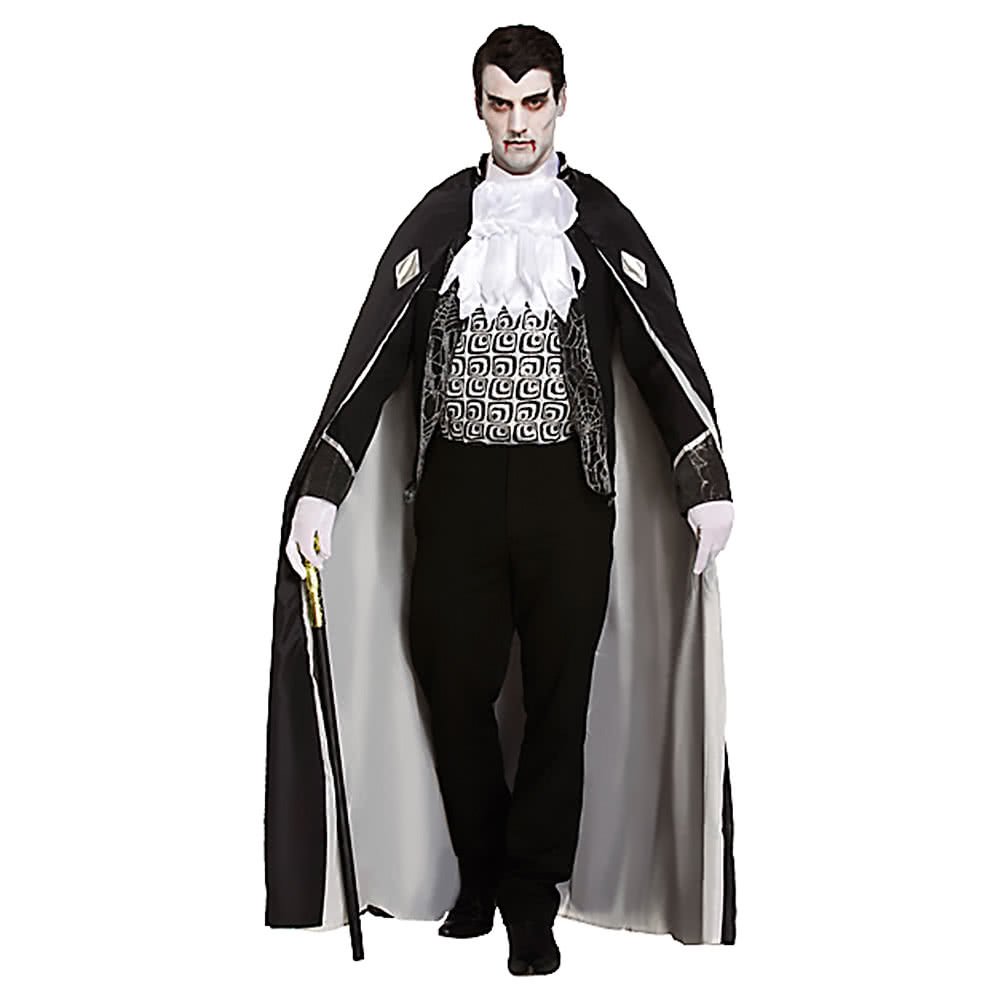 Blue Banana Dracula Fancy Dress Costume (Black)