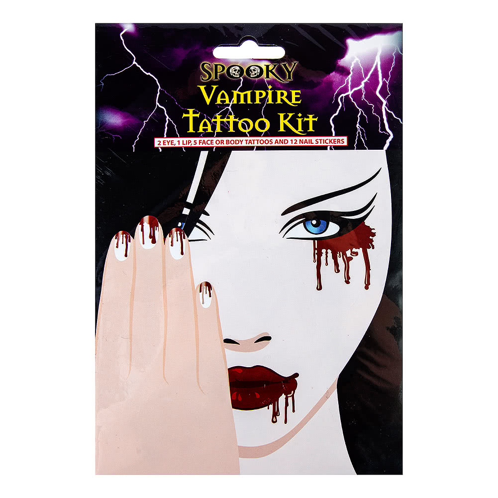 Fancy Dress Vampire Tattoos (20pcs)