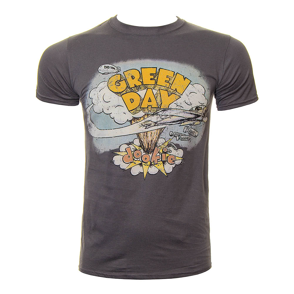 Official Green Day Dookie T Shirt (Grey)