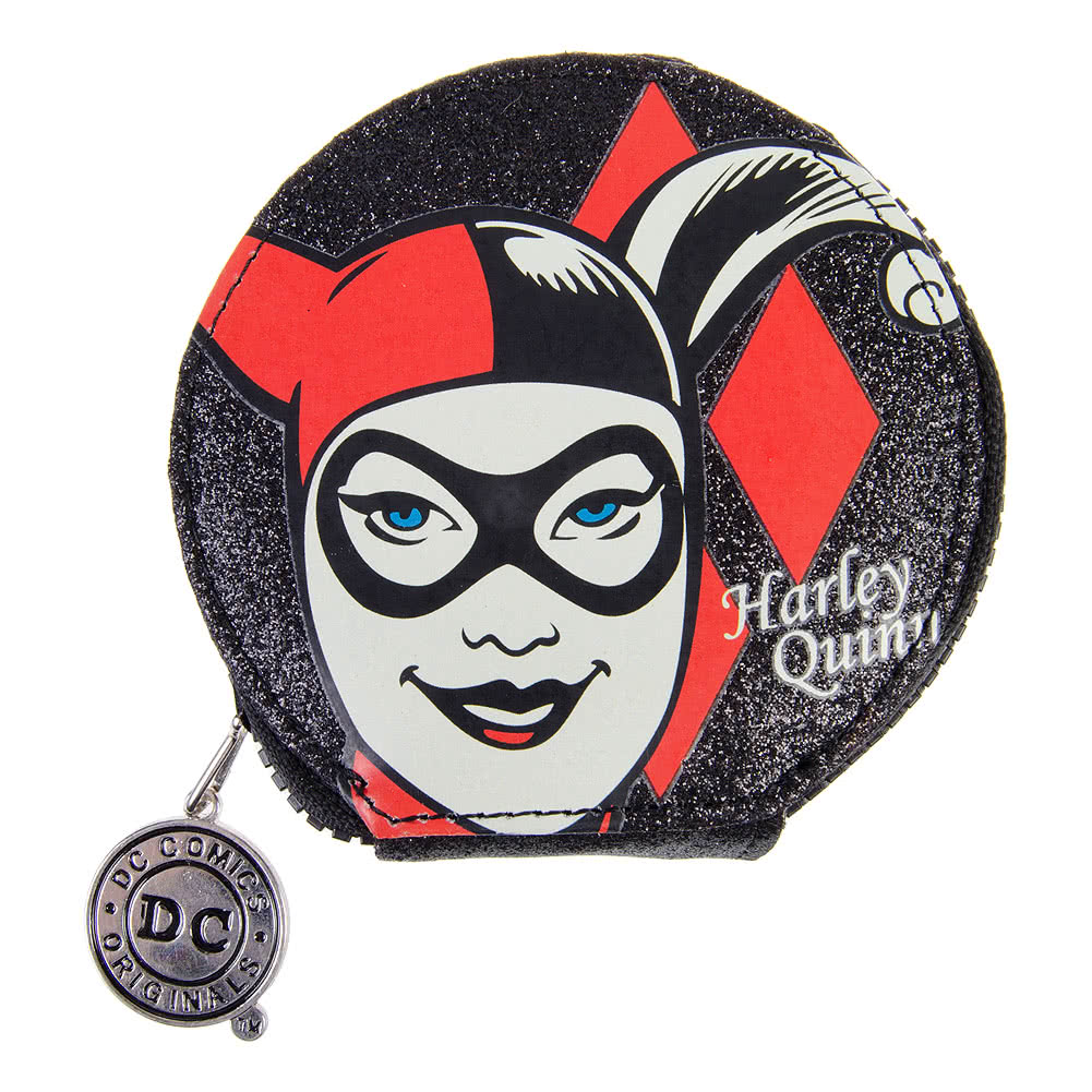 DC Comics Harley Quinn Coin Purse (Multicoloured)