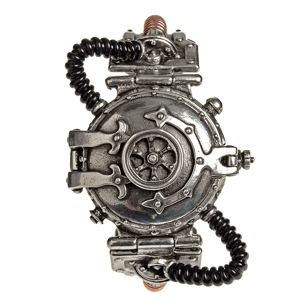 Alchemy Gothic EER Steam-Powered Entropy Calibrator Watch (Pewter)