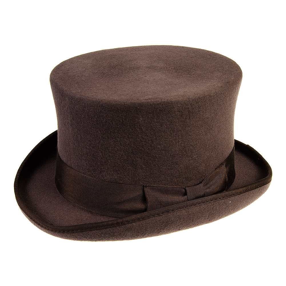 6c3a2169cdd Major Wear Classic Brown Top Hat
